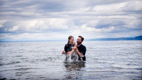 baptism in lake