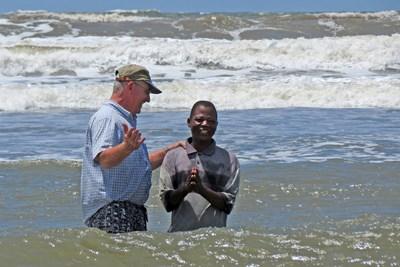 baptism in ocean