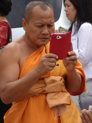 monk-on-a-phone