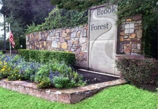 brook forest sign