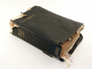 worn out bible 1