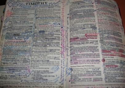 worn out bible 2
