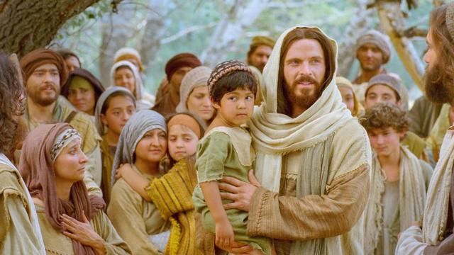 Jesus with families